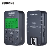 YONGNUO YN622C-KIT Wireless Remote Control 100M E-TTL Flash Trigger Transceiver Pair Kit for Canon EOS Series DSLRs