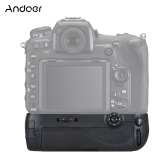 Andoer Vertical Multi Battery Power Pack Grip Holder MB-D17 Replacement Work with EN-EL15 or AA Batteries for Nikon D500