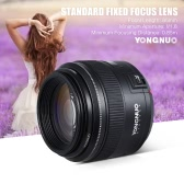 YONGNUO YN85mm f1.8 AF/MF Standard Medium Telephoto Prime Lens Fixed Focal Lens for Canon EF Mount EOS 7DII  5DII 5DIII 5DS 5DSR 1D Mark I/II/III/IV 1DS Mark I/II/III 1DX 6D 80D 70D 760D 700D 650D Cameras