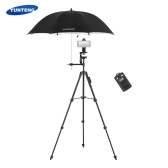 YUNTENG VCT-5228 Portable Aluminum Alloy 4-Section Tripod