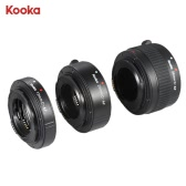 KOOKA KK-C68P AF Macro Extension Tube Set for Canon (12mm/20mm/36mm) 60D 70D 5D2 5D3 7D 6D 650D 600D 550D