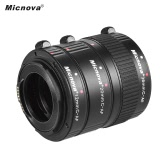 Micnova KK-C68P AF Macro Extension Tube Set for Canon (12mm/20mm/36mm) 60D 70D 5D2 5D3 7D 6D 650D 600D 550D