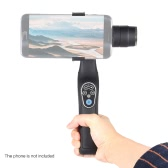 "Lightweight ABS 2 Axis Handheld Brushless Stabilizer Gimbal Bluetooth Remote Control Adjustable Clip with 1/4"" Screw Hole for iPhone Samsung BlackBerry Xiaomi Smartphone"