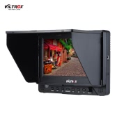 Viltrox DC-70EX Porfessional Portable 7 Inch HD Clip-on Camera Video LCD Monitor 1024 * 600 Resolution for High Definition Multimedia Interface / SDI / AV Input and Output for Canon Nikon Sony Pentax Olympus DSLR Cameras