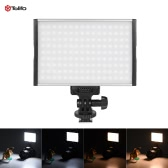 Tolifo PT-15B Pro High Power Ultra-thin Dimmable Bi-color Temperature 3200K - 5600K 144pcs LED Light for Canon Nikon Sony DSLR Camera Camcorder