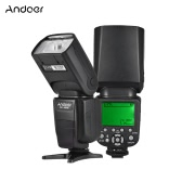 Andoer AD-980IIIC E-TTL Master Slave Flash Speedlite 1/8000s HSS Built-in 2.4G Wireless Flash System 2.9s Recycle Time Manual & Auto Zoom GN58 for Canon Series Cameras
