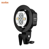 Godox WITSTRO AD-B2 AD200 Dual Power Flash Head Bowens Mount Double Tube Light Head Bracket for AD200 Portable Flash Speedlite
