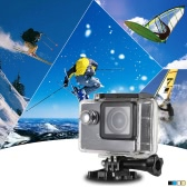 "4K 24FPS 1080P 60FPS Full HD DV 16MP 2.0"" Screen Wifi Waterproof 30M 170° Wide Angle Outdoor Action Sports Camera Camcorder Digital Cam Video Car DVR Webcam PC"
