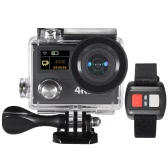 "2"" Dual Screen LCD Sports Action Camera Ultra HD 360 VR Play Wifi 4K 30fps 1080P 60fps 12MP 170° Wide-angle for High Definition Multimedia Interface Output Waterproof 30M with Remote Control"