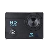 2インチ液晶採用1,200万画素1080P録画&Wi-Fi対応アクションスポーツカメラ