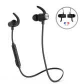 dodocool Magnetic Wireless Stereo Sports In-Ear Headphone with HD Mic CVC 6.0