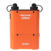 Godox PROPAC PB960 Dual-Output Speedlite Power Battery Pack 4500mAh for Canon Nikon Flash Orange