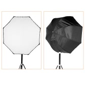 Professional 80cm / 31.5in Octagon Umbrella Softbox Brolly Reflector for Speedlite