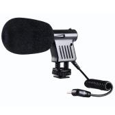 BOYA BY-VM01 Directional Video Condenser Microphone for Canon Nikon DSLR Camcorder