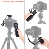 VILTROX JY-710 2.4GHZ FSK Wireless Remote Shutter Controller Set Time Lapse Intervalometer Timer with C1 Cable for Canon 300D 400D 500D