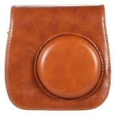 Leather Camera Case Bag Cover for Fuji Fujifilm Instax Mini8 Mini8s Single Shoulder Bag