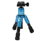 Ultra Compact Desktop Macro Mini Tripod Kit with Ball Head for Canon Nikon DSLR Camera