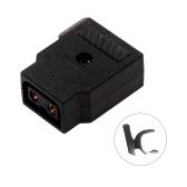 D-Tap Dtap Power TAP Female Rewirable DIY Socket for Camcorder DSLR Rig Power Cable V-mount Anton Camera Battery