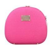 Rose Camera Bag Hamburger Shape Bag Single-shoulder Bag with Large Volume for Fujifilm Mini7s/25/50s/55/90 Cameras