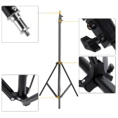"2.6m / 8.5ft Photo Studio Light Stand with 1/4"" Screw for Video Portrait Studio Soft Box Product Photography"