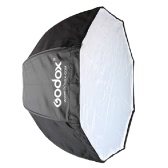 Godox 120cm / 47.2in Portable Octagon Softbox Umbrella Brolly Reflector for Speedlight