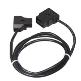 D-TAP 2 Pin Male to Female Adapter Cable for DSLR Rig Anton Bauer Battery V-mount Dtap to Dtap 1M