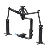 Mini Camera Video Handheld Mechanical Stabilizer for Camcorder DV Video Camera DSLR