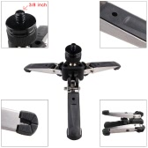 """Andoer Universal Three-Foot Support Stand Monopod Base for Monopod Tripod Head DSLR Cameras 3/8"""" Screw"""