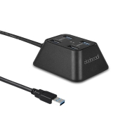dodocool 4-Port USB 3.0 HUB for Desktop Ultrabook Superspeed 5Gbps Portable