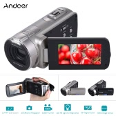 Andoer HDV-312P 1080P Full HD Digital Video Camera Portable Home-use DV with 2.7 Inch Rotating LCD Screen Max. 20 Mega Pixels 16× Digital Zoom