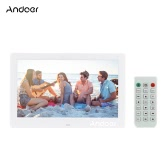 """Andoer 10.1"""" LCD Digital Photo Picture Frame  Alarm Clock MP3 MP4 Movie Player 1024 * 600 HD with Remote Control"""