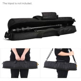 CADeN Black Padded Nylon Photographic Tripod Carrying Case Bag with Strap for Studio Light Stand Umbrellas & Accessories