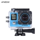 "Andoer 4K 30fps/1080P 60fps Full HD 16MP Action Camera Waterproof 30m WiFi 2.0""LCD Sports Helmet Bike DV Cam Camcorder 170 Degree 4X Zoom Dual Screen Car DVR"