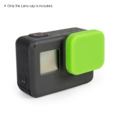 Soft Silicon Protective Lens Cap Cover Protector Accessories for GoPro Hero 5 Sports Action Camera