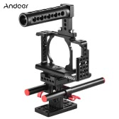 Andoer Protective Video Camera Cage Stabilizer Protector for Sony A6000 A6300 NEX7 ILDC to Mount Microphone Monitor Tripod Lighting Accessories