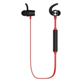 dodocool Magnetic Wireless Stereo Sports In-Ear Headphone with HD Mic CVC 6.0 Noise Cancellation for Most Bluetooth-enabled Smart Devices Red