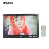 "Andoer 13"" TFT LED Digital Photo Picture Frame High Resolution 1280*800 Advertising Machine MP3 MP4 Movie Player Alarm Clock with Remote Control Gift Present"