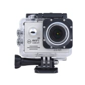 1080P HD 12MP Action Camera Waterproof WiFi LCD Wide Degree Angle Len Anti-shake Sports Camcorder Car DVR