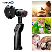 WenPod SP1 Handheld Brushless 2-Axis Smartphone Gimbal Stabilizer Gyro Lightweight Adjustable Clamp for iPhone 7/7plus/6plus/6 for Samsung Huawei Smartphone