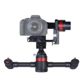 WenPod MD2 Handheld Intelligent Auto Calibration Soundless 3 Axis Gimbal Camera Video Stabilizer Gyro for Canon Nikon Sony DSLR ILDC Mirrorless Cam Camcorder