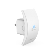 dodocool N300 Wall Mounted Wireless Range Extender Signal Booster Support Access Point AP / Repeater Mode 2.4GHz 300Mbps with Dual Integrated Antennas EU Plug