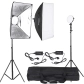 Andoer LED Photography Studio Lighting Light Kit