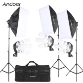 Andoer Photography Studio Portrait Product Light Lighting Tent Kit Photo Equipment