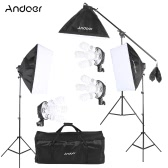 Andoer Studio Photo Video Lighting Kit with Carrying Bag