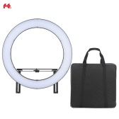 FalconEyes DVR-160TVC Video Camera Photography Studio LED Ring Light Fill-in Lamp 160pcs SMD Beads 3200K-5600K Adjustable Color Temperature