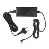 YONGNUO 12V 5A AC Power Adapter with EU Plug Wide Voltage 100-240V for YONGNUO YN600L Series YN300III YN168 YN216 YN1410 YN300Air YN160III YN360 YN608 YN600RGB YN308 YN600 Air LED Video Light