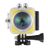 360°Fisheye Panoramic Camera 2448P 30fps Full HD 16MP WiFi Waterproof 30m LCD Sports DV Camcorder Car DVR Support VR Playback Stop Motion Drama Shot