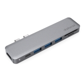 dodocool Aluminum Alloy 7-in-1 Multiport Hub for MacBook Pro 13.3-inch / MacBook Pro 15.4-inch