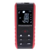 100m Portable Handheld Digital Laser Distance Meter Range Finder Area Volume Measurement with Angle Indication