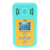 Handheld Professional Carbon Dioxide Gas CO2 Meter Detector Temperature Measurement LCD Display Alarm Value Settable